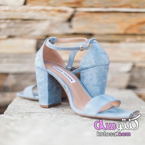شوزات سواريه روعة2019,شوزات سوارية كعب عريض,احذية سواريةلامعة,احذية بكعب kntosa.com_01_19_155