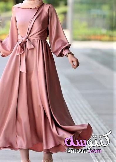 ملابس محجبات .احدث صيحات الازياء البناتي.ملابس بناتي شيك.اجدد ملابس بناتي 2020 kntosa.com_01_19_157