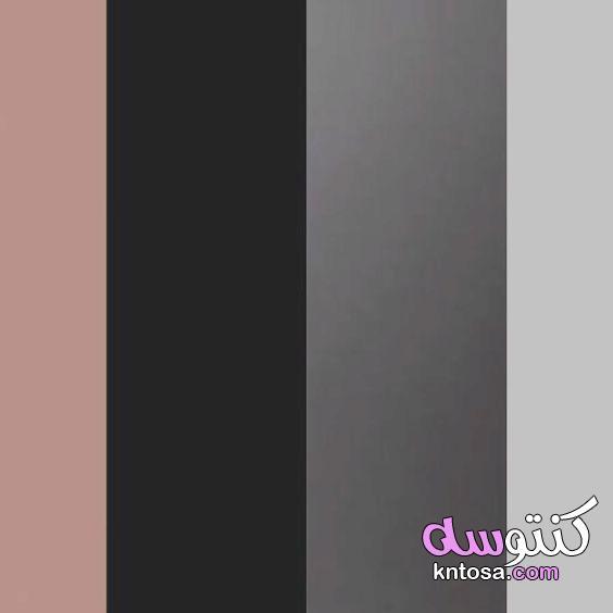 كنب وردي ورمادي،ماهو اللون المناسب مع الوردي في الاثاث،كنب وردي مخمل،غرف جلوس رمادي وفوشي kntosa.com_01_19_157