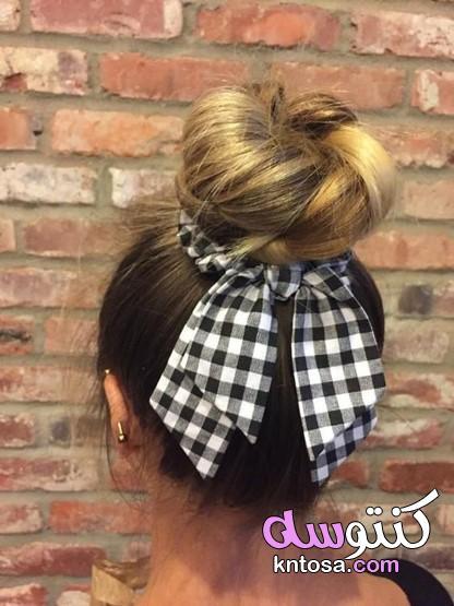 توك شعر للعرايس،طريقة عمل توكة من الستان،توك شعر 2020 kntosa.com_01_20_159