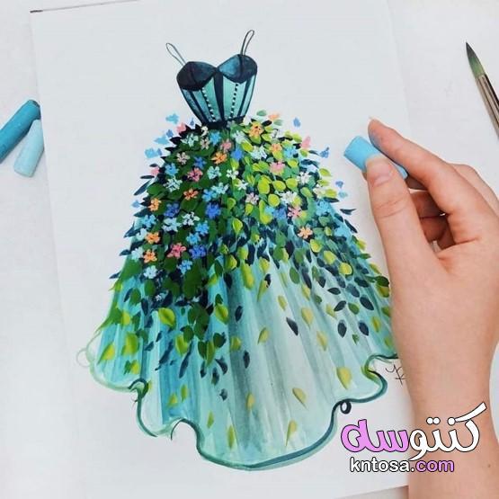 صور فساتين تصميم صور موديلات فساتين للخياطة عليك رؤيتها2021 kntosa.com_01_21_160