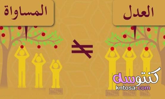 الفرق بين العدل والمساواة kntosa.com_01_21_162