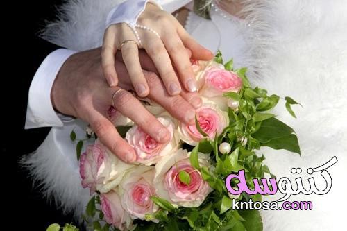 لماذا يتم وضع خاتم الزواج في الإصبع الرابع؟ kntosa.com_01_21_162