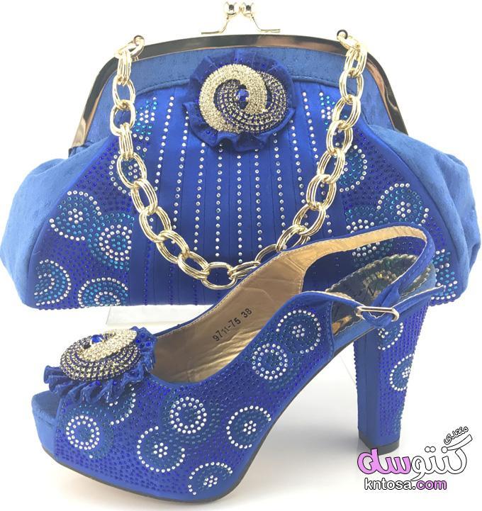 أحدث تصميم النبيلة2019 الأحذية والحقائب 2019الإيطالية مطابقة حذاء . kntosa.com_02_19_154
