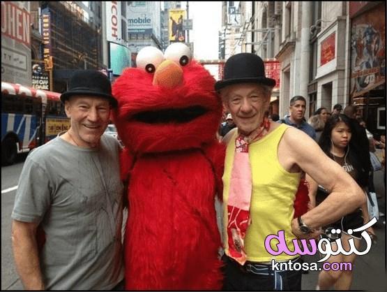 صور طريفة لكبار المشاهير مع بعض المعجبين 2020 kntosa.com_02_19_157