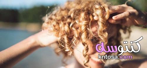 تفتيح لون الشعر طبيعي بشمس المصيف kntosa.com_02_21_162