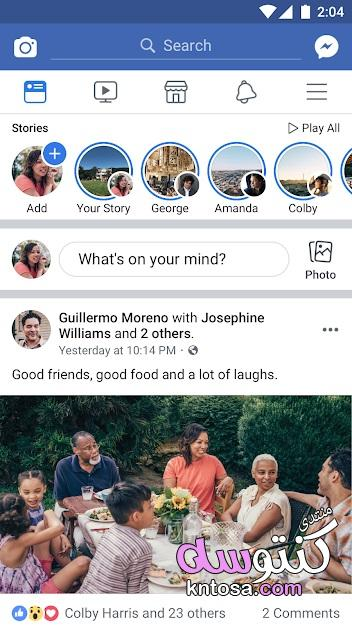 تحميل تطبيق فيس بوك 2019,google play Facebook 2019,تطبيقات جوجل بلاى 2019 kntosa.com_03_18_154
