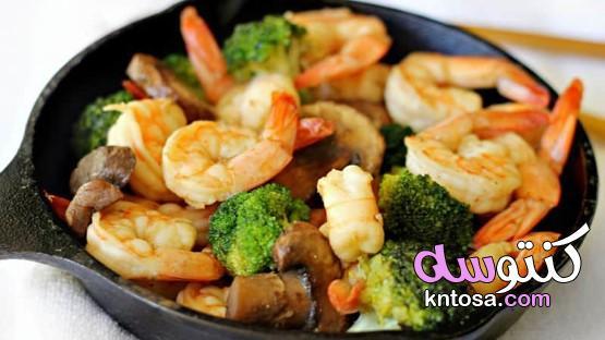 3 وصفات صحية للروبيان تقدم في أقل من 30 دقيقة،وصفات الروبيان لذيذة وصحية kntosa.com_03_19_157