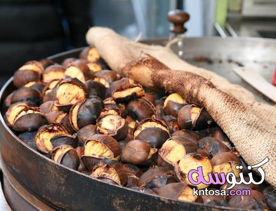 طرق طبخ الكستناء أو أبو فروة المشوي وكيف تحضرين منه أفضل الأكلات kntosa.com_03_21_161