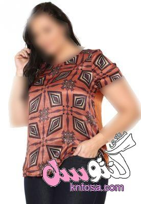 ازياء للسمينات,مقاسات كبيرة,ملابس مقاسات كبيرة,احلى لبس كاجول للتخان2018 kntosa.com_04_18_153