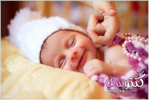اطفال نايمين حلوين,صوربيبي جديد,اطفال مواليد بالصور2019,صور اطفال نايمين,اطفال نايمين فى غاية الجمال kntosa.com_04_18_154