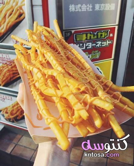شاهد أطول بطاطس محمرة,أطول اصابع من البطاطس المقليه,مطعمً في اليابان يقدم البطاطس مقلية طويلة جدا kntosa.com_04_19_156