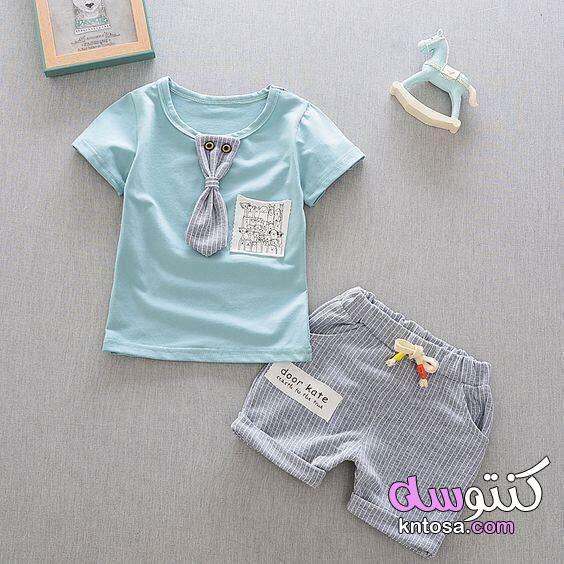 ملابس اطفال ذكور حديثي الولادة، ملابس بيبي اولاد شتوي،موضة ملابس بيبي و ازياء اطفال حديث الولادة2020 kntosa.com_04_19_157
