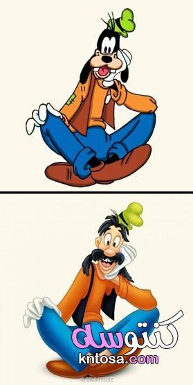 ماذا لو تحولت شخصيات الكارتون المفضلة لك .. الى اشخاص kntosa.com_04_21_162