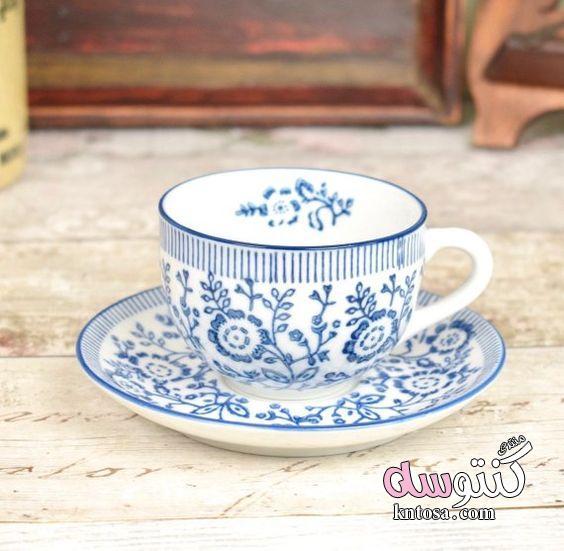 احدث موديلات فناجين شاى.احلى فنجان قهوة.فناجين شاى فخمه2018.اكواب قهوه جميله kntosa.com_05_18_153