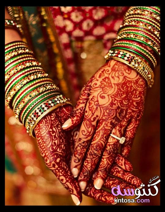 نقش حناء يجنن,صور نقوش حناء جديده2019،نقوش حناء هنديه رائعه،نقش هندي جديد kntosa.com_05_19_154