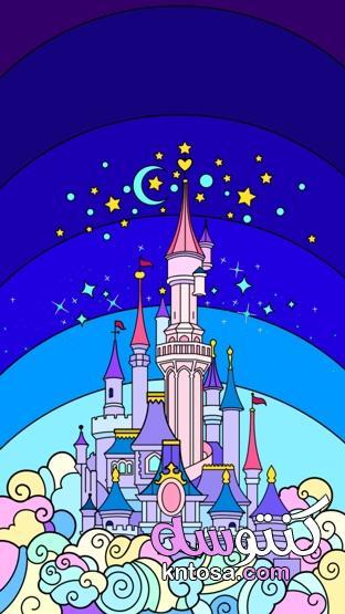 رسومات جميلة ملونة 2021،بنات كيوت رسم 2021 kntosa.com_05_21_160