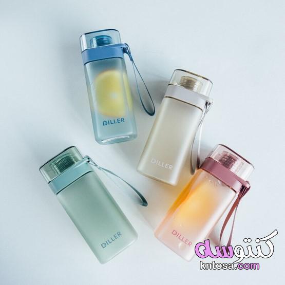 كأس الإبداعية مربع المياه المحمولة، المحمولة زجاجة ماء تريتان، كوب زجاجة ماء kntosa.com_06_19_157