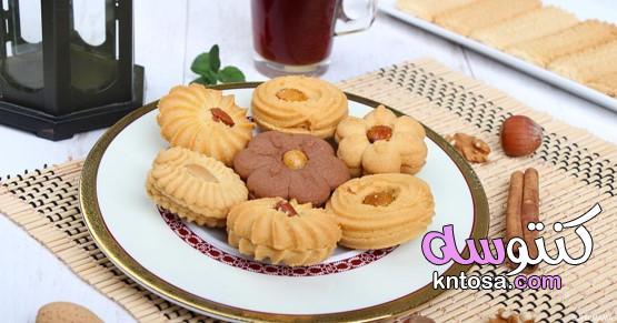 بمعايير مظبوطة طريقة عمل بيتي فور العيد الهش بطعم لذيذ وتزين رائع