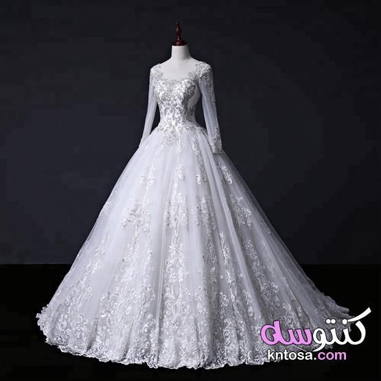 أحدث تشكيلة من فساتين الزفاف 2021،موضة فساتين زفاف 2021 منتدى كنتوسه kntosa.com_06_21_162