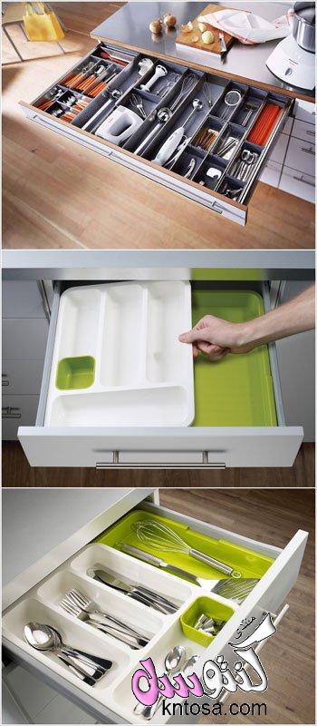 طريقة ترتيب الاواني في دولاب المطبخ,طرق ترتيب ادوات المطبخ بالصور,طريقة ترتيب خزائن المطبخ بالصور kntosa.com_07_18_153