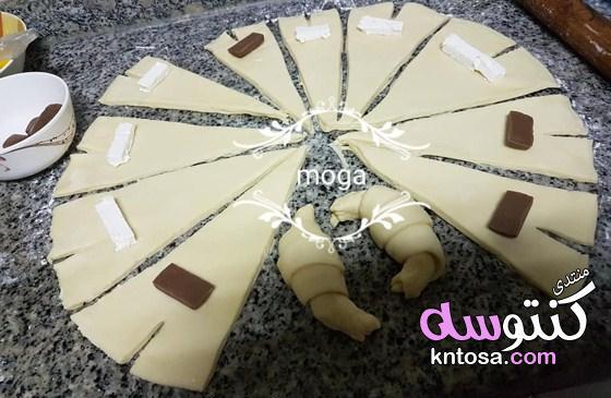 طريقة عمل المولتو بالشيكولاتة بالمنزل مضمونة molto,كرواسون الشوكولاتةpain aux raisins kntosa.com_07_19_155