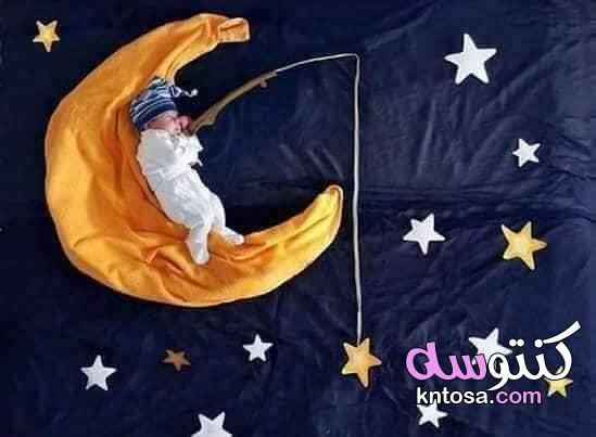 افكار تصوير بيبي, افكار تصوير اطفال حديثي الولادة,افكار تصوير اطفال كل شهر,أفكار جلسات تصوير للطفل kntosa.com_07_19_156