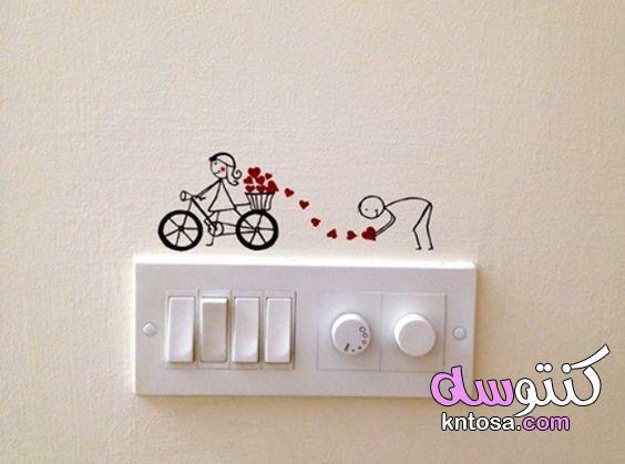 ملصقات قابس للديكور المنزلي،ملصقات للمفاتيح الكهربائية 2021
