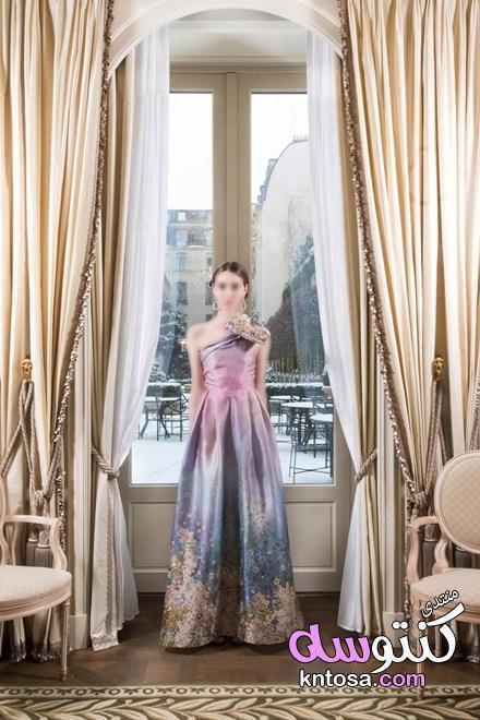 مصممة الأزياء الإيطالية Luisa Beccaria تعرض مجموعتها الجديدة لربيع وصيف 2019 kntosa.com_08_19_154