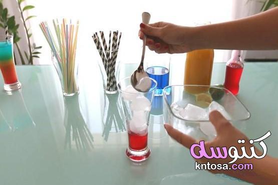 وصفة كوكتيل قوس قزح بدون كحول kntosa.com_08_21_162