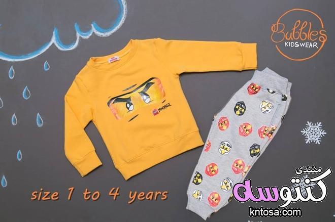 ملابس أطفال أولاد شتوية2019،ملابس اطفال اشكال رائعة،اجدد ترنجات اطفال شتوية,موديلات ترنجات اطفال kntosa.com_09_18_154