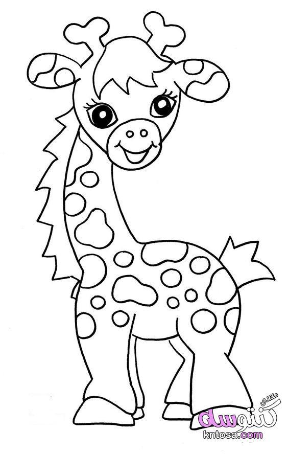 صور حيوانات للتلوين,صور فيل,زرافه,قرد,غوريللا للتلوين,رسومات للتلوين,رسومات جميله ومتنوعه للتلوين kntosa.com_09_18_154