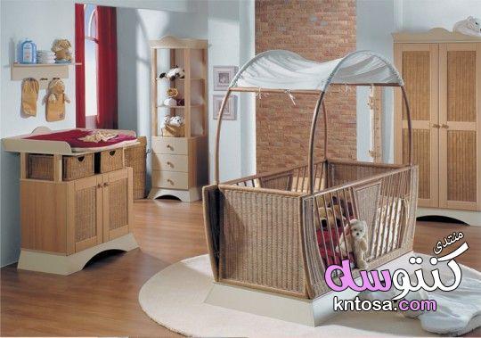 غرف نوم بيبي,اجمل ديكورات غرف نوم اطفال حديثي الولادة,تصاميم غرف اطفال روعة,سراير نوم بيبى kntosa.com_09_19_156
