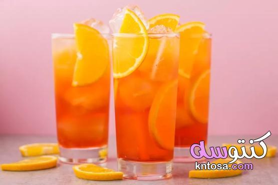 مشروب كوكتيل أبيرول سبريتز ،عصير كوكتيل Aperol Spritz kntosa.com_09_21_162