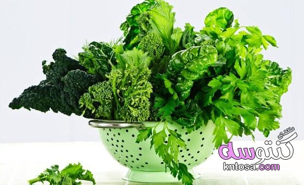 أطعمة سحرية تحميك من هشاشة العظام,اهم انواع الخضار الورقية تحميك من الامراض kntosa.com_10_19_154