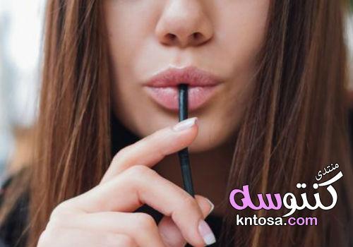 حل تجاعيد حول الفم,التجاعيد حول الفم أسبابها وطرق علاجها والوقاية,طرق اخفاء الخطوط حول الفم منها kntosa.com_10_19_154