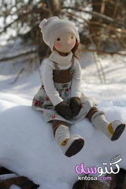 عرايس لعبه من الجوخ,صور دمية لعبة للاطفال,احلى صور دمى للاطفال يدوية من قماش الجوخ kntosa.com_10_19_155