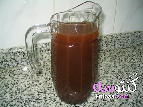 طريقة عمل الخروب القرون, طريقة عمل الخروب مثل المحلات,طريقة عمل الخروب الغامق,مشروب الخروب kntosa.com_10_19_155