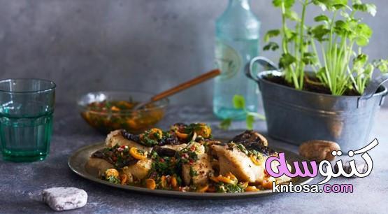 المأكولات البحرية ، صلصة السمك ، الجمبري المشوي ، سمك الفحم ، اكلات السمك kntosa.com_10_19_156