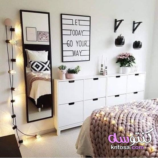 اشكال مرايات غرف نوم طويلة , مرايا غرف نوم بنات , تسريحات غرف نوم مودرن 2019 kntosa.com_10_19_156