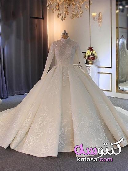 فساتين زفاف 2021،اجمل الصور فساتين زفاف،فساتين زفاف ايلى صعب 2021 ، Wedding Dresses 2021 kntosa.com_10_20_160