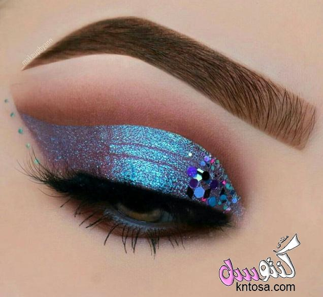 رسم العيون بالصور,مكياج عيون,اجمل رسم عيون خليجي,احلى رسم عيون,رسم العيون الصغيرة,طريقة رسم العيون kntosa.com_11_18_153