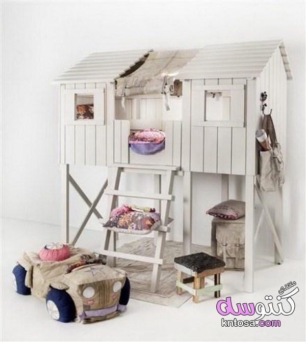 كيفية تزيين غرف الاطفال باشياء بسيطة,افكار لتزيين غرف الاطفال بنات,غرف نوم اطفال بسيطة وغير مكلفة kntosa.com_11_19_154