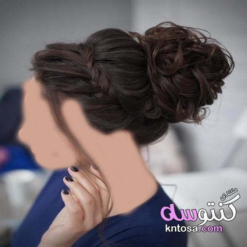 تسريحات شعر بنات 2019,أحدث تسريحات للشعر الطويل,تسريحات شعر رائجة لعروس 2019,قصات و تسريحات للشعر kntosa.com_11_19_154