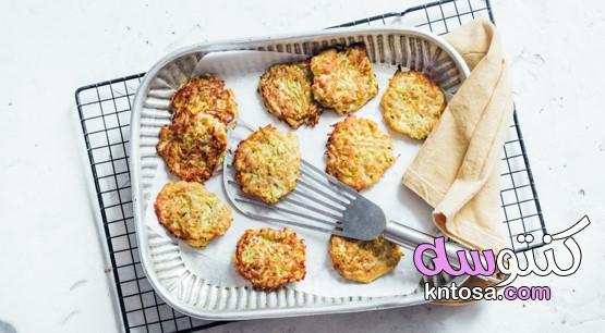 طريقة عمل كوسة الفطائر,مكونات فطائر نباتية سريعة وخفيفة,كيف لطهي الفطائر الاسكواش kntosa.com_11_19_156