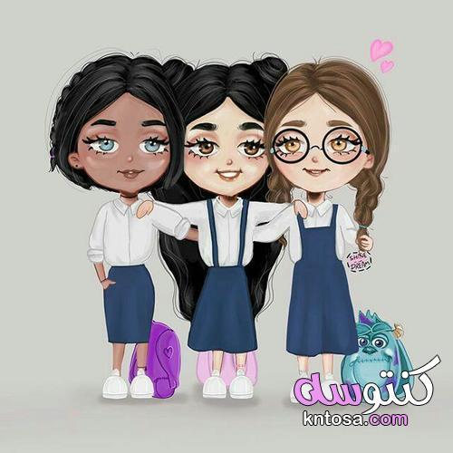 اروع بنات انمى من تجميعى,اروع صور بنات الانمي جديده,صور انمي ثلاثية الاصدقاء kntosa.com_11_19_156