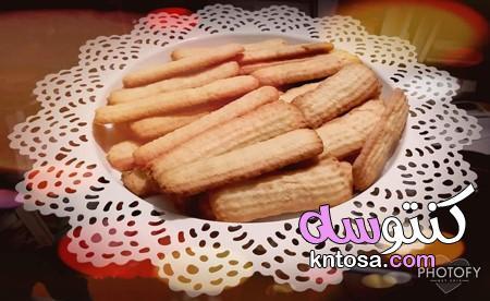 طريقة عمل بسكويت البرتقال بالزبدة، طريقة عمل بسكويت النشادر بالصور kntosa.com_11_20_157