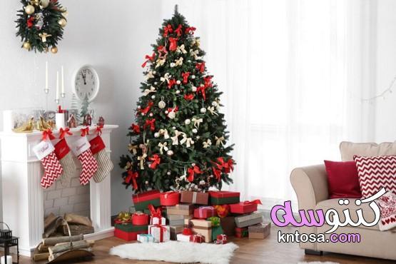 معرفة كيفية تزيين شجرة عيد الميلاد،صورة لتزيين شجرة عيد الميلاد الجميلة للعام الجديد 2021 kntosa.com_11_20_160