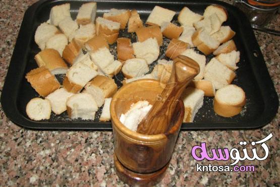 فتات الخبز محلية الصنع