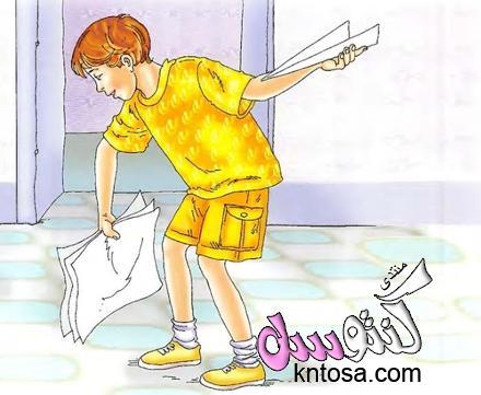 حكاية ماجد والاصدقاء بالصور.قصة الاصدقاء الثلاثة المصورة للصغار.حدوته انا مشغول جدا للاطفال kntosa.com_12_18_153
